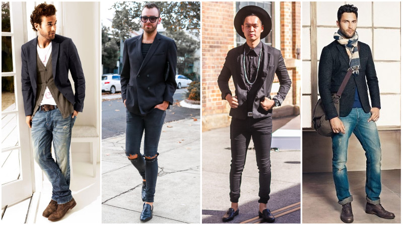 Men S Edit How To Pull Off A Casual Blazer With Effortless Style